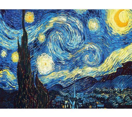 Starry Night Diamond Painting by Van Gogh