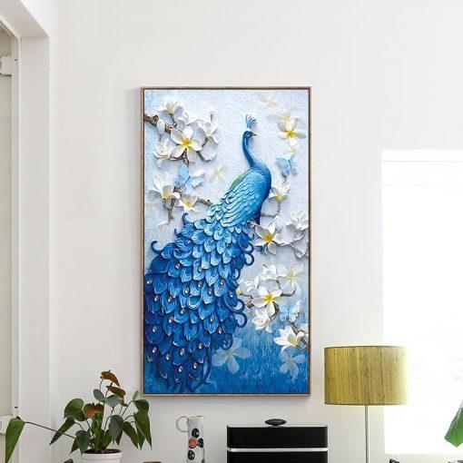 5d Diamond Painting Peacock Home decor