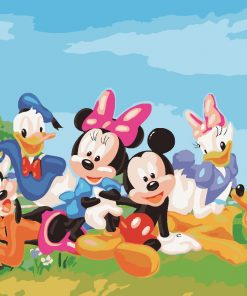 Disney Painting by Numbers for Kids