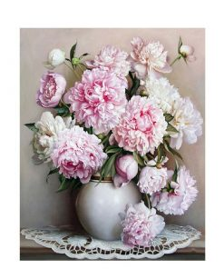 Paint By Numbers Peonies Flowers