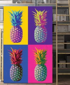 Andy Warhol Pineapple pop art