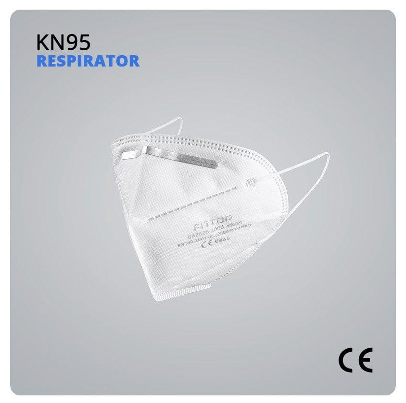 KN95 CE Certified FFP3 Anti Virus Mask Anti 5 Pcs