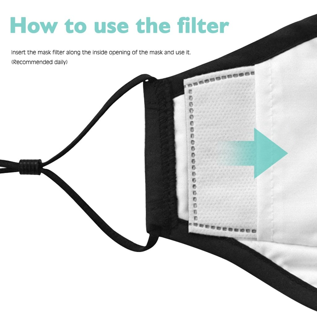 Activated Carbon Filter PM2.5 For Face Masks