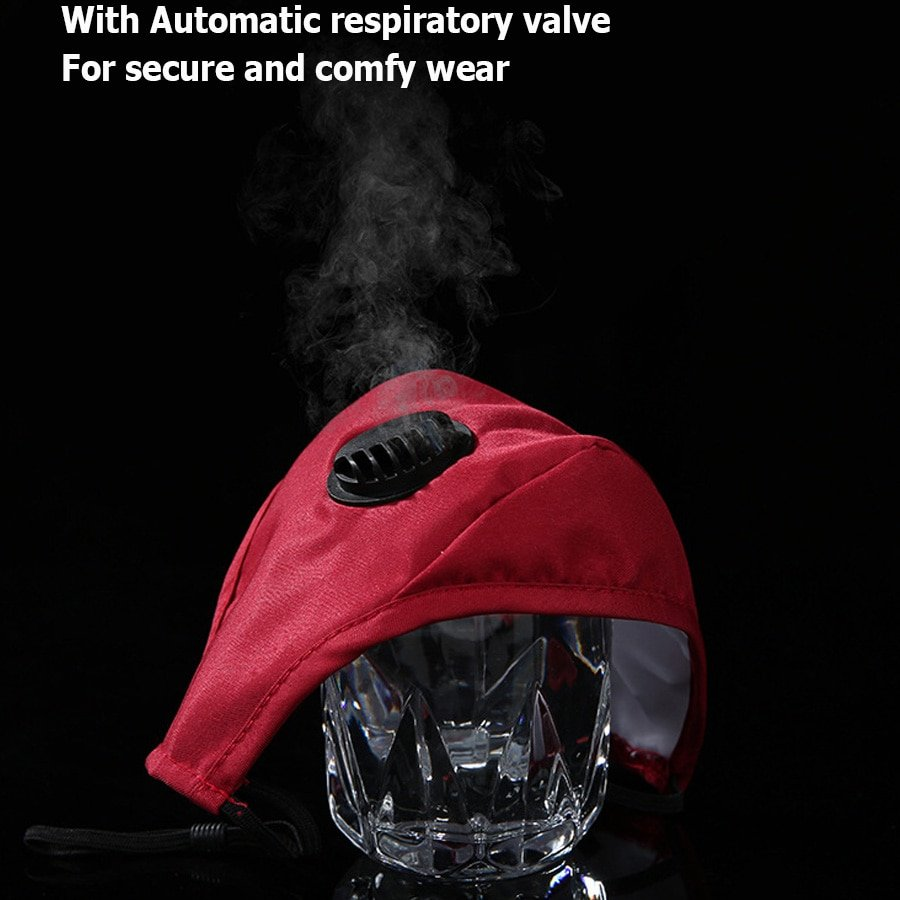 KN95 Anti Virus Mask With Valve and PM 2.5 Carbon Filter