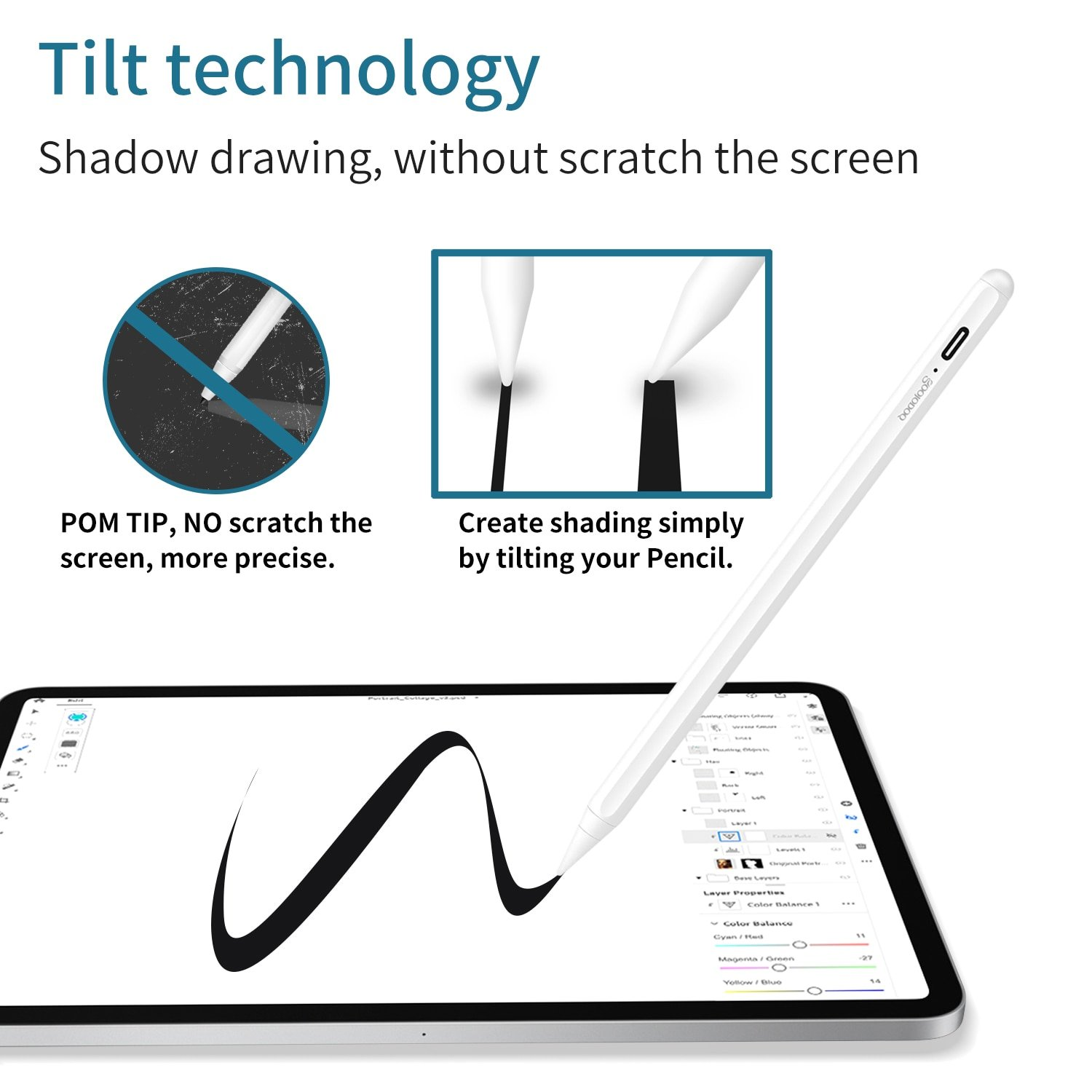 Pencil For Ipad Pro & Ipad Air