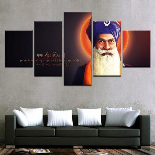 Baba Deep Singh Canvas