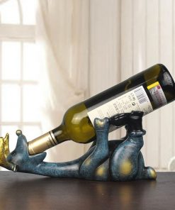 Deer Resin Bottle Holder