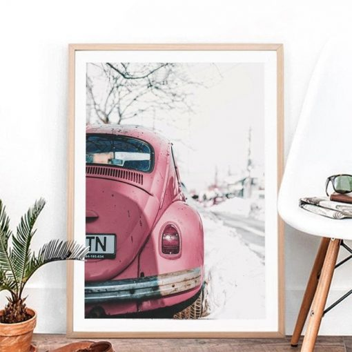 Vintage Car Wall Art Print