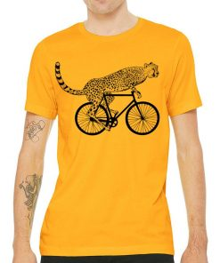 Cheetah Gold T shirt for men