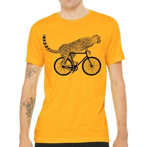 Cheetah Gold T shirt for men