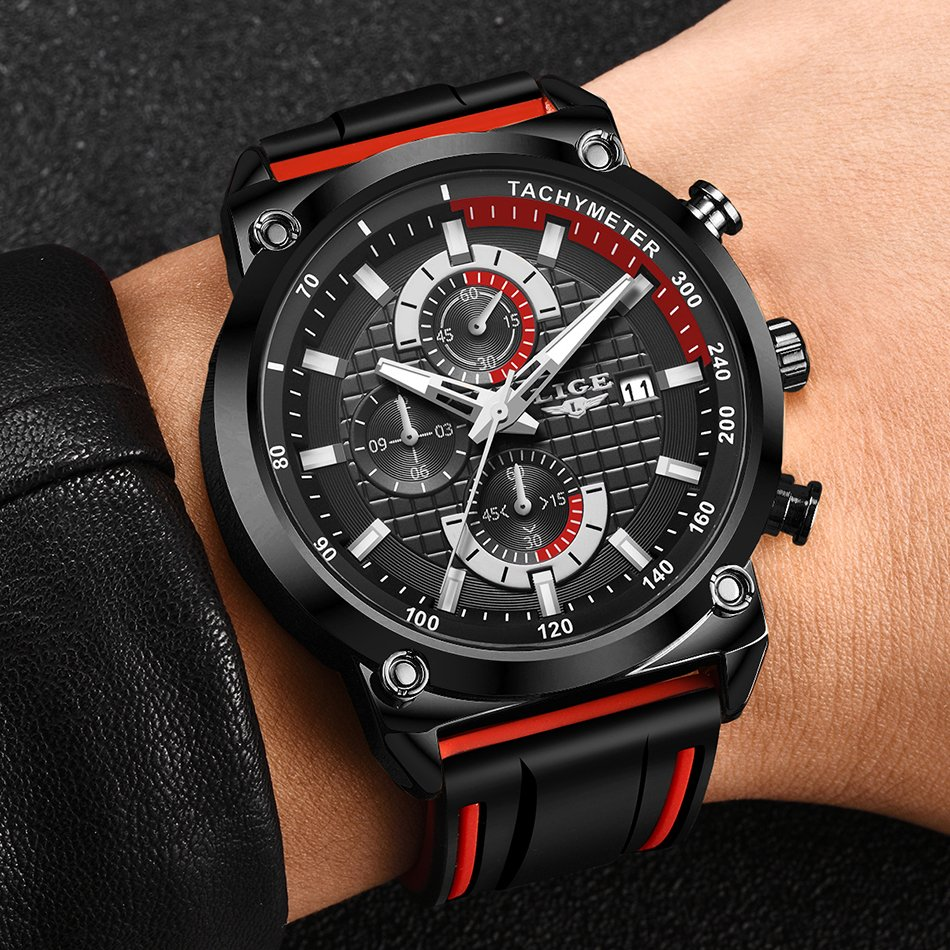 Mens Tachymeter Waterproof Watch Best Price