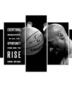 Kobe Canvas Black and White